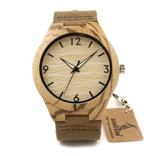 БОБО ПТИЦА F27 Античная Luxury Brand Design мужские Деревянные Часы С Натуральной Кожи Планки Zingana Кварцевые Часы в Коробках
