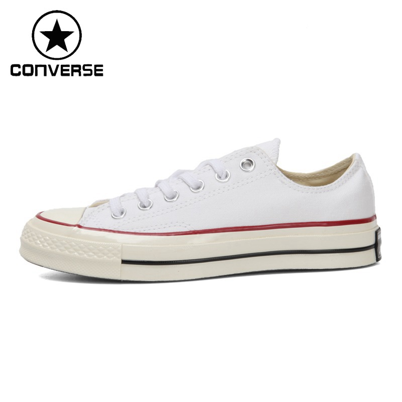 Original New Arrival 2018 Converse Unisex Skateboarding Shoes Low Top Canvas Sneakers original new arrival converse unisex high top skateboarding shoes canvas sneakers