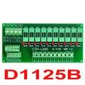 Для Монтажа в панель 10 Позиция Распределения Питания Предохранитель Модуль Доска, для AC230V.