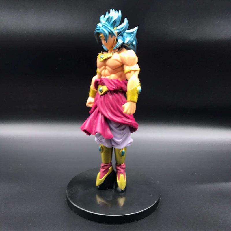 Anime Dragon Ball Z Broli Figure Super Saiyan Broli Doll PVC Action Figures Toy Brinquedos 20cm (1)