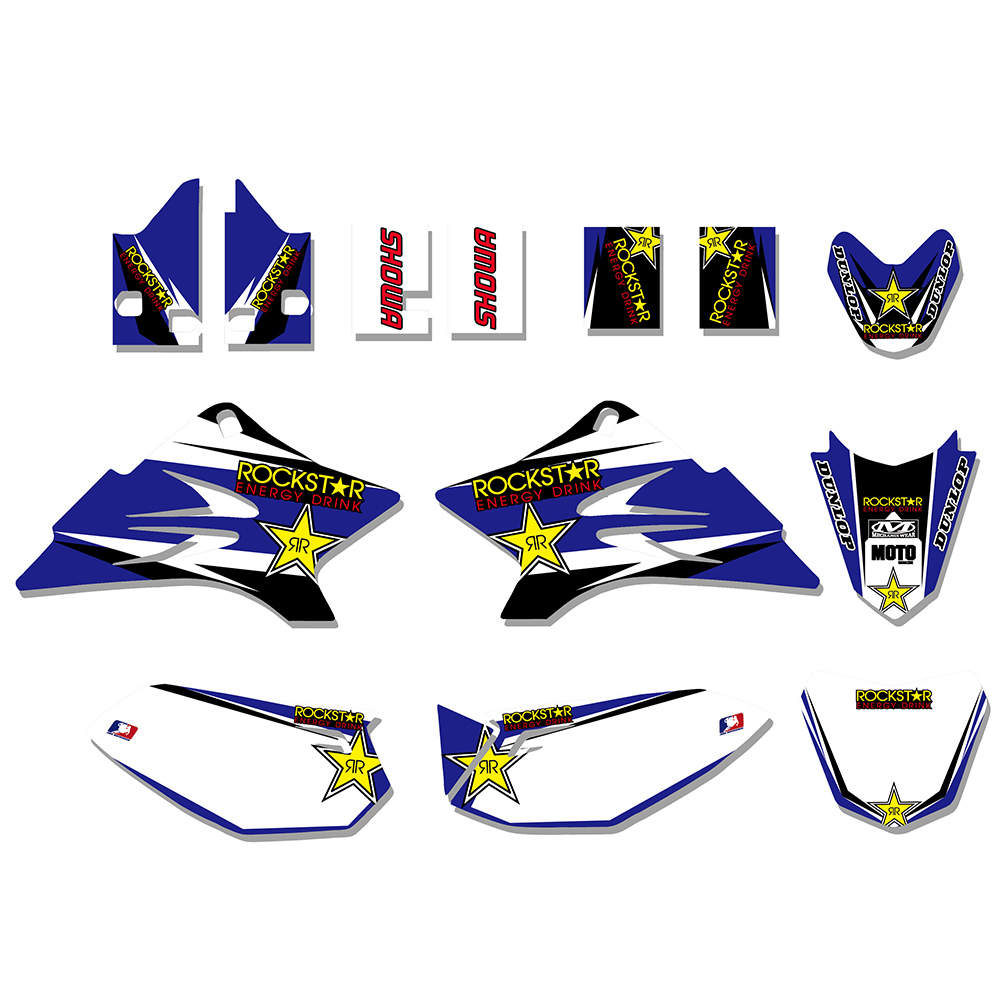 5 Styles TEAM Graphics Decals Sticker For Yamaha TTR50 TTR 50 2006 2007 2008 2009 2010 2011 2012 2013 2014 2015 2016 2017 2018 auto body rear tail side trunk vinyl decals raptor graphics svt sticker for ford f150 2009 2010 2011 2012 2013 2014