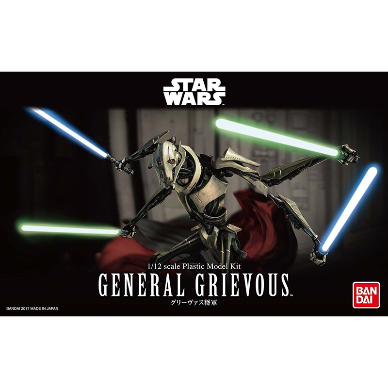 1/12 BANDAI  Star Wars GENERAL GRIEVOUS model hobby-in Model Building Kits from Toys & Hobbies    1