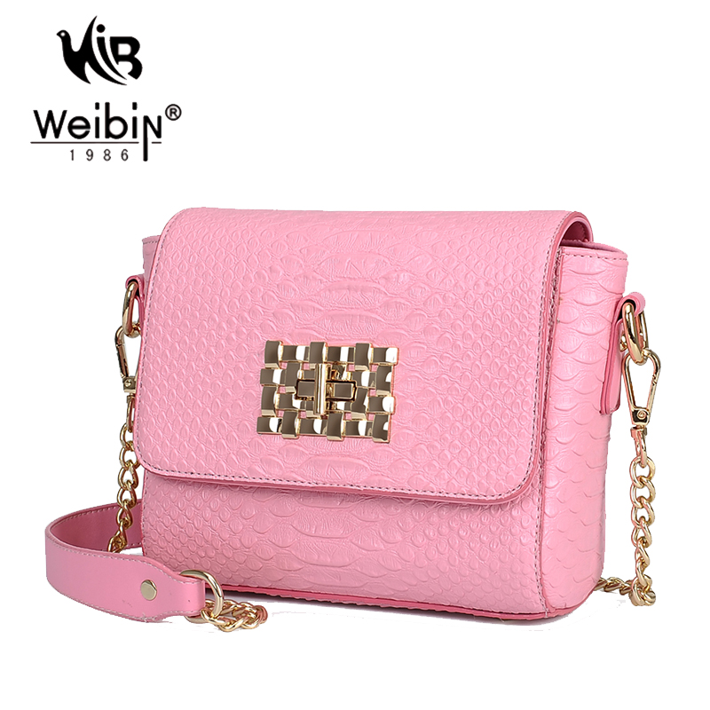 Famous Brands Gold Chain Sling Bag For Women Messenger Bags Mini ...