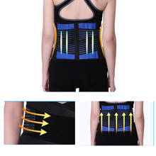 Elastic Plus Size Lower Back Posture Support Girdle Neoprene Double Pull Lumbar Spinal Brace Back Support Belts Braces Women Men все цены