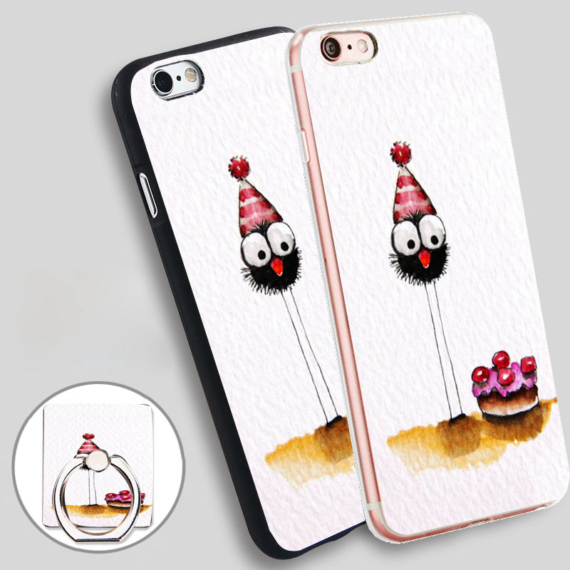 HOP Etsy Holder Soft TPU Silicone Phone Case Cover for iPhone 4 4S 5C 5 SE 5S 6 6S 7 Plus