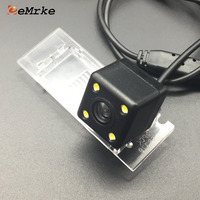 EEMRKE 4 LED CCD HD Camera For Smart Fortwo 2017 For Renault Kadjar 2016 Car Rear