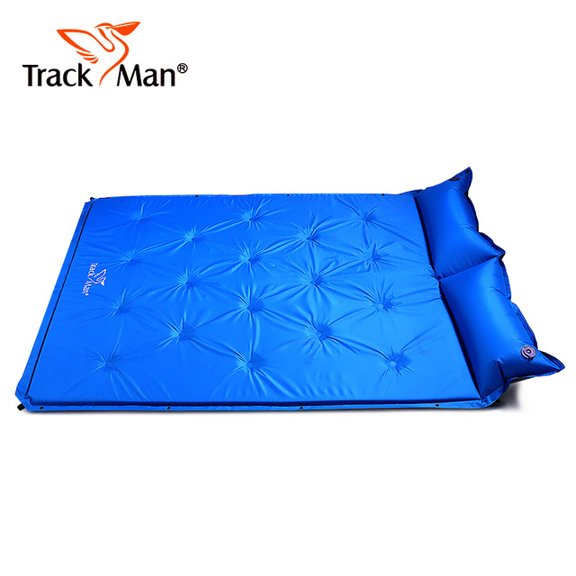 Trackman Double Camping Mat Automatic Inflatable Mattress