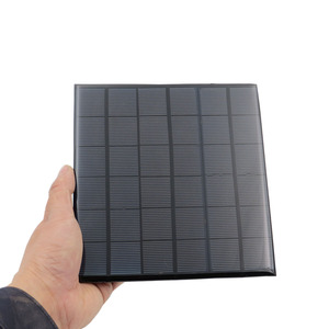 Image 4 - Mini 9V 12V 2W 3W 4.2W Panel słoneczny Panel na energię słoneczną System DIY akumulator moduł ładowarki przenośny Panneau Solaire energii