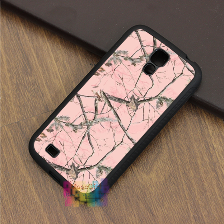 pink Realtree Camo fashion phone case for samsung galaxy S3 S4 S5 S6 S6 edge S7 S7 edge Note 3