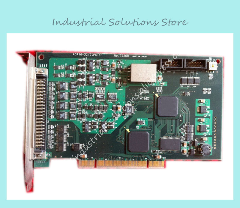 все цены на ADA16-32/2(PCI)F NO:7226B industrial motherboard 100% TESTED OK онлайн