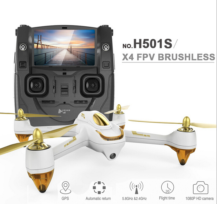 F18000 Original Hubsan H501S X4 5.8G FPV RC Drone With 1080P HD Camera Quadcopter with GPS Follow Me CF Mode Automatic Return