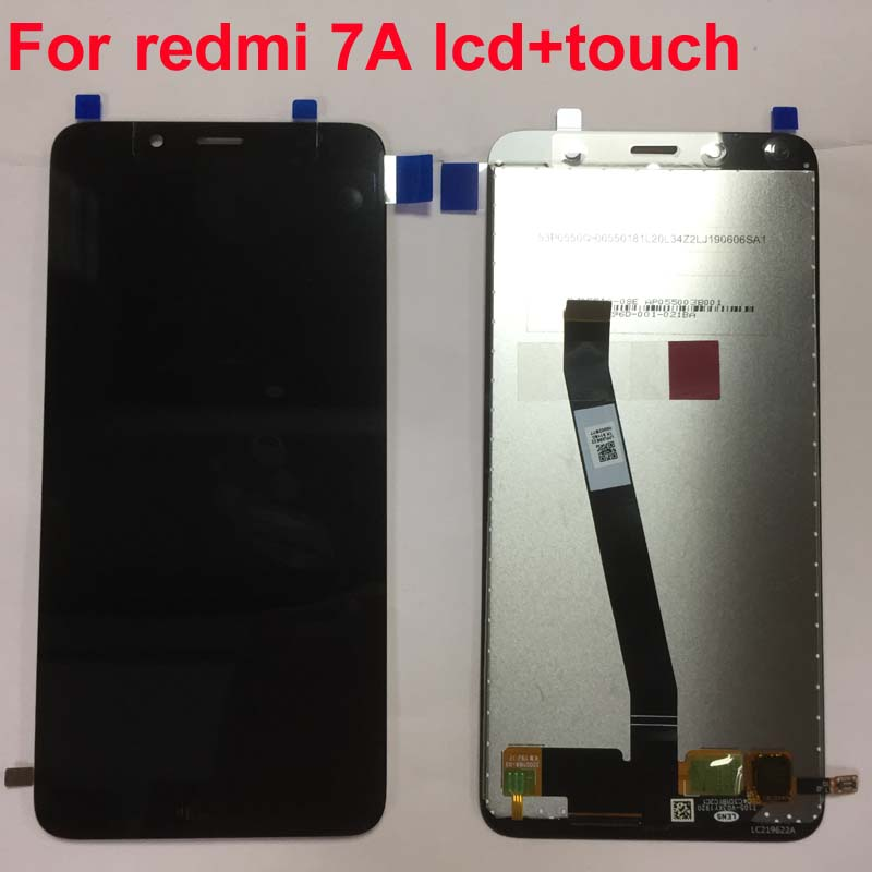 "Image 2 - Original For 5.45"" Xiaomi Redmi 7A MZB7995IN LCD Screen Display With Frame+Touch Screen Panel Digitizer For Xiaomi Redmi 7A-in Mobile Phone LCD Screens from Cellphones & Telecommunications"