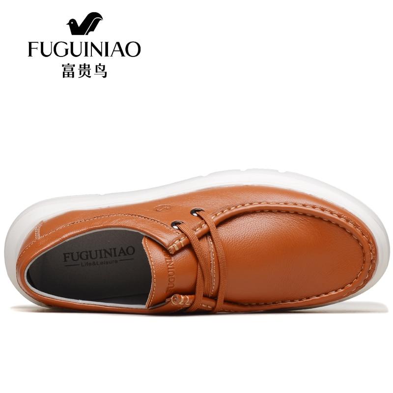 Pisos Encaje Británicos Navy Cuero Calzados Moda Sneaker Hombres Auténtico Masculino Hombre Vestido Ocasionales Zapatos Ocio brown Sapato qHqRnP0w