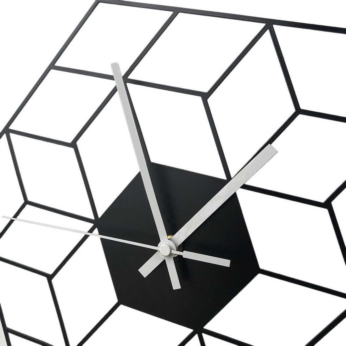 35X40 см креативная железная куб настенная батарея для часов работает бесшумные настенные часы Новое поступление подвесные часы домашний Декор Бесплатная доставка