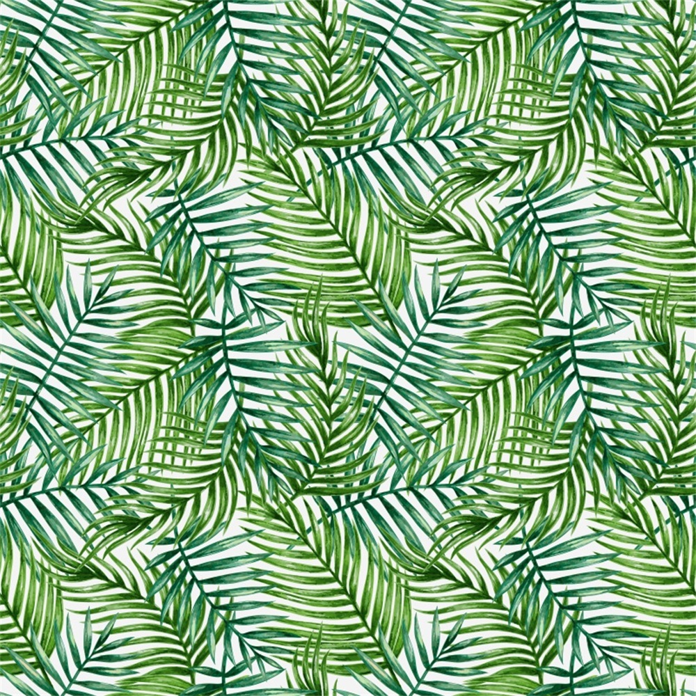 Laeacco Palmleaves Birthday Banner Baby Shower Monstera Photo Backgrounds Customized Photographic Backdrops For Photo Studio in Background from Consumer Electronics