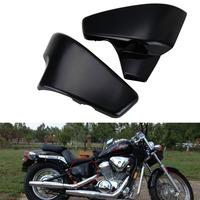 UNDEFINED ABS Plastic Black Battery Side Cover For Honda VT 600 Shadow VLX Deluxe Steed 400 600 400VLS VLX 600 1999 2008