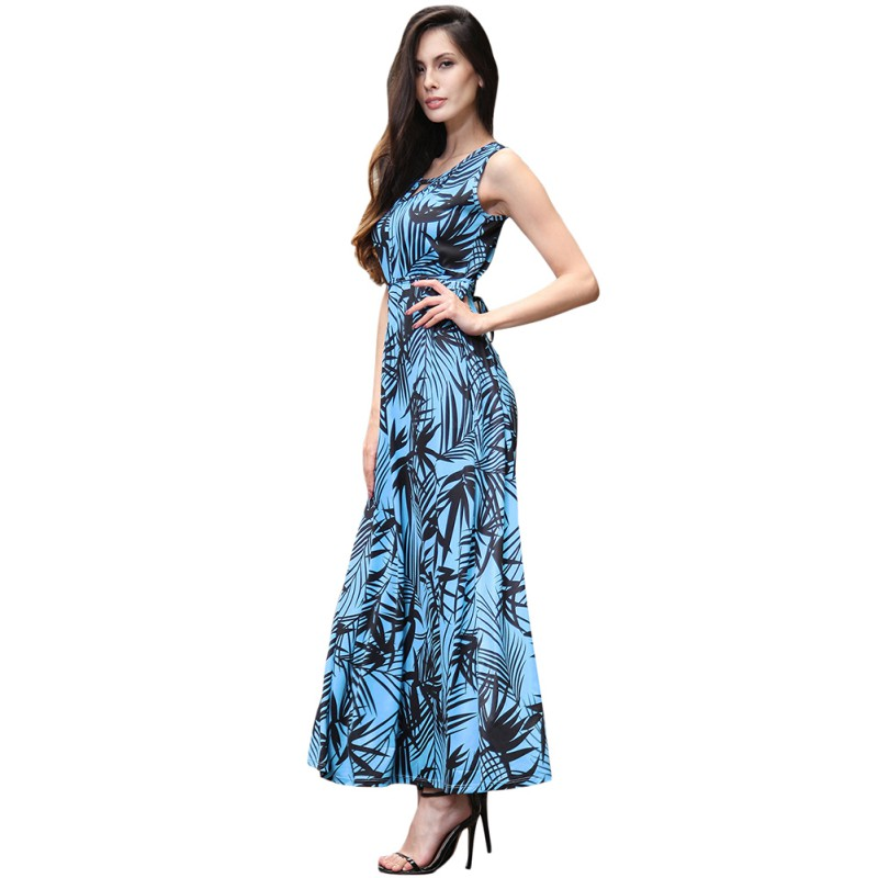 Casual Floor Length Dress