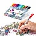 STAEDTLER 334 цветная волоконная ручка 4/10/20 цветная игловая ручка с крючком