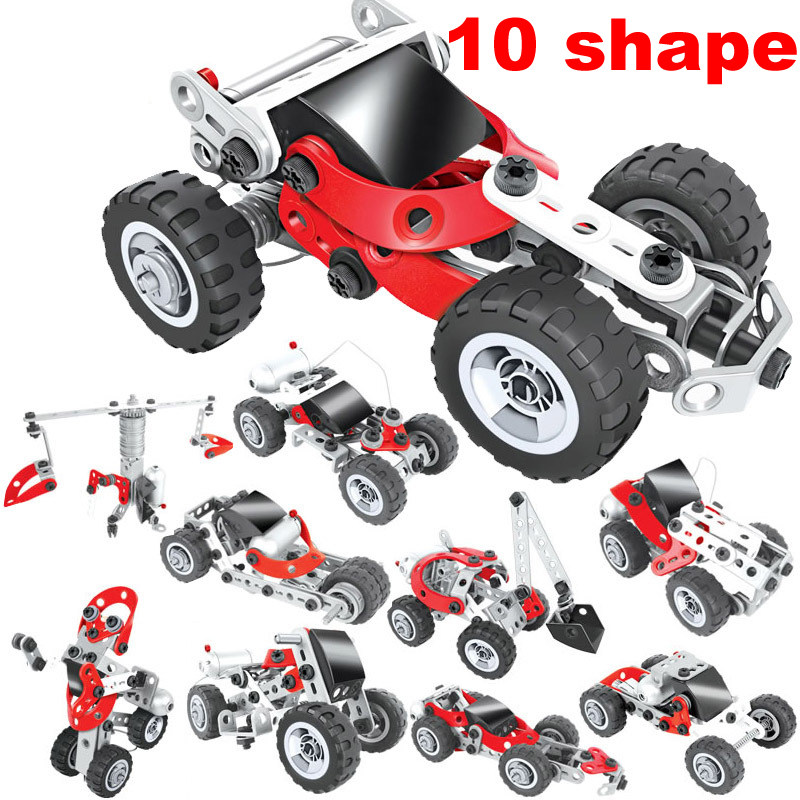 10 in 1 LEPIN Technic Remote Control Building Blocks Educational Toys Cars Trucks Building Blocks Bricks Toys for Children Gifts