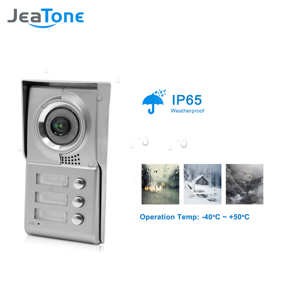 Видеодомофон JeaTone для домашней - Безопасность и защита - Фотография 4