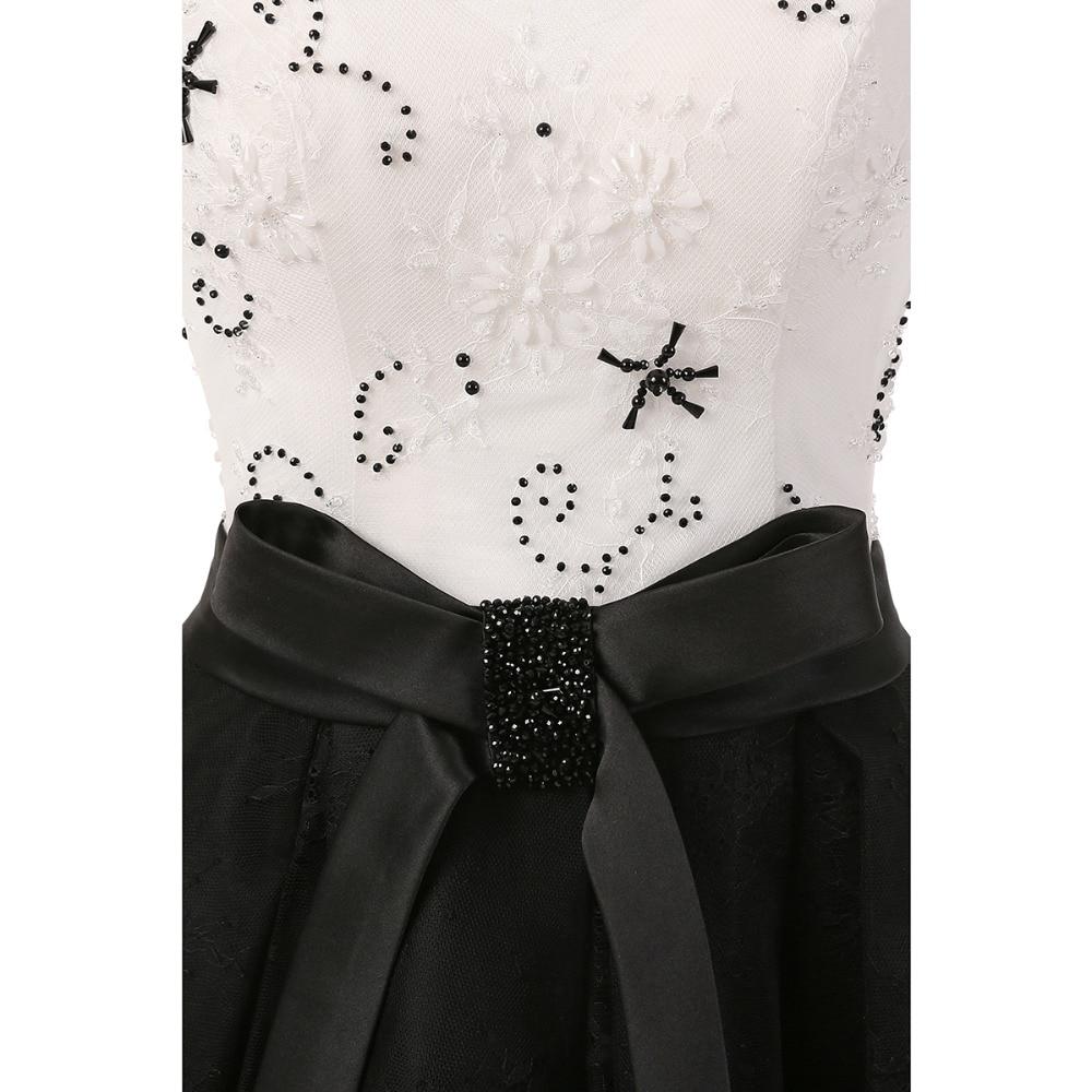 Prom Kjoler 2019 Mote Te Lengde Sexy V-Neck Formell Kjole Elegant - Spesielle anledninger kjoler - Bilde 6