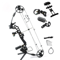 Adjustable 30 70 lbs Archery Compound Bow With Complete Accessories Powerful Outdoor Hunting Shooting Archery Bow Arrow G204