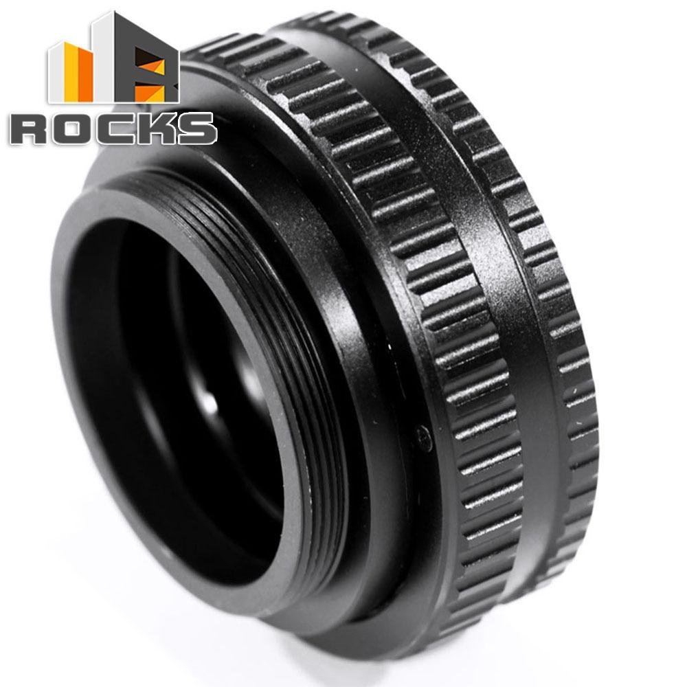 Pixco 1235 M42 Lens Adjustable Focusing Helicoid Macro Tube 22-42mm/10-13.5mm + Lens Adapter M42 /C Mount Lens to for NEX camera микрофоны madboy c tube 10