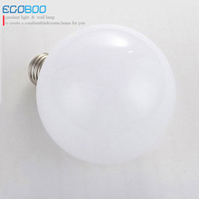 Big White E27 LED Bulb Lamps 5W for Pendant Light warm white cool white стоимость