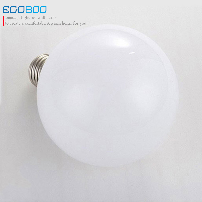 Big White E27 LED Bulb Lamps 5W for Pendant Light warm white cool white