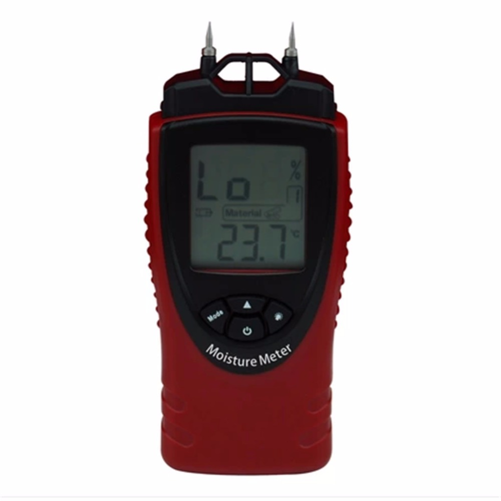 ST8040 Digital Wood Moisture Meter Wood Humidity sawn timber hardened materials ambient temperature Moisture Tester st8040 st 8040 digital moisture meter tester