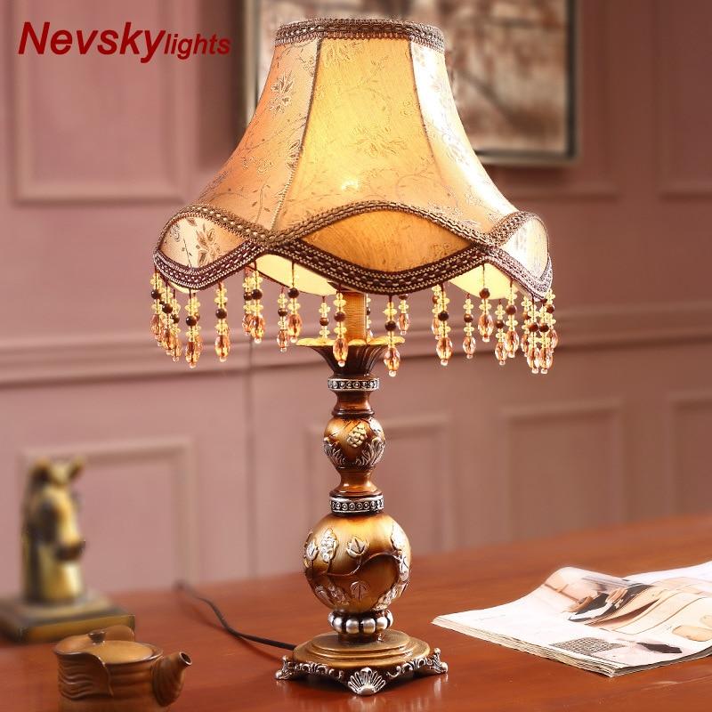 Home decor Bedding Art Decor Resin Table Lamp Decorative ...