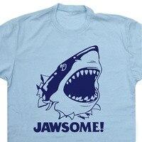 EnjoytheSpiritฉลามตลกเสื้อT
