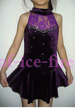 ice skating suit for children free shipping black skating suit cheap and beatiful skating custom