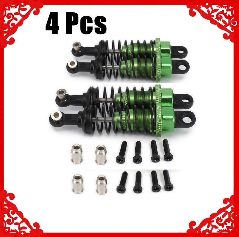 2/4/6/10 piezas aceite ajustable 65mm amortiguador para coche Rc 1/18 WLtoys a959 A969 A979 K929 Hpi Hsp Traxxas Losi Tamiya