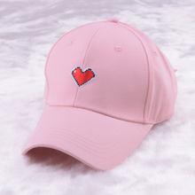 Casquillo de las mujeres negro Rosa Blanco gorra de béisbol coreano negro  dad hat para las mujeres sombrero del papá del bordado. bc2b3248808
