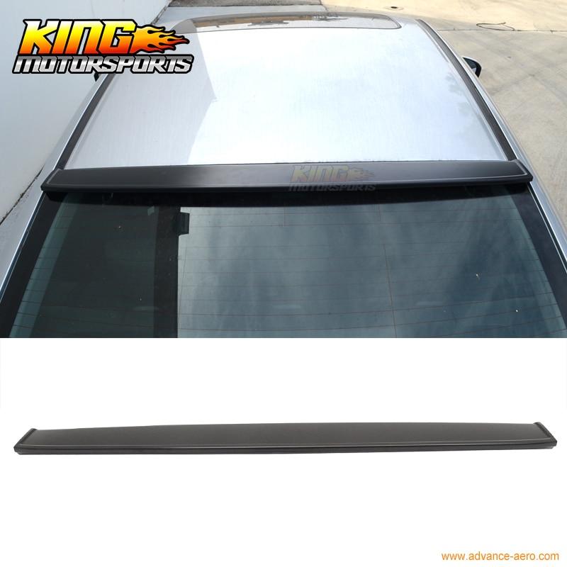 For 12-15 Honda Civic 4Door 4D 4Dr IKON Unpainted Rear Roof Spoiler Wing - ABS