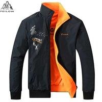 PEILOW Jacket Men Fashion Design Veste Homme Formal double Sided wear Suit Coat Solid color coat Brand Clothing L-5XL Men Jacket