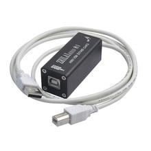Venta caliente ZHILAI H1 PCM2704 HiFi Mini Ordenador Tarjeta de Sonido Externa Digital PC USB DAC Entrada 3.5 Salida de Señal de Audio con cable