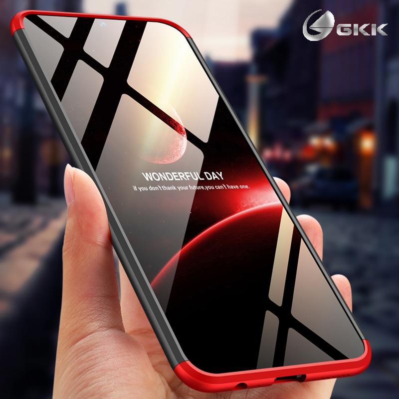 GKK Luxueux Cas pour vivo v11 pro 6.41 Dur PC Mat Antichoc 3 dans 1 Conception 360 Protection Retour couverture pour vivo v11 pro Cas