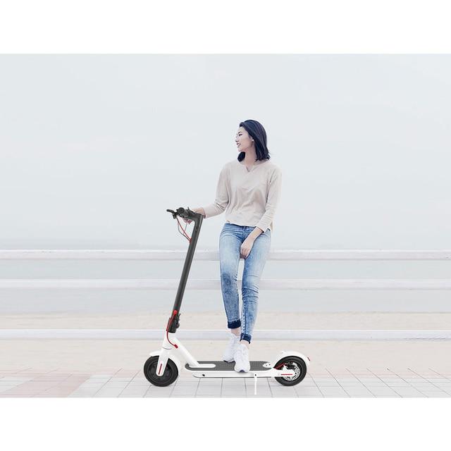 IScooter Scooter eléctrico inteligente plegable longboard eléctrico monopatín con luz LED 2 ruedas envío gratis