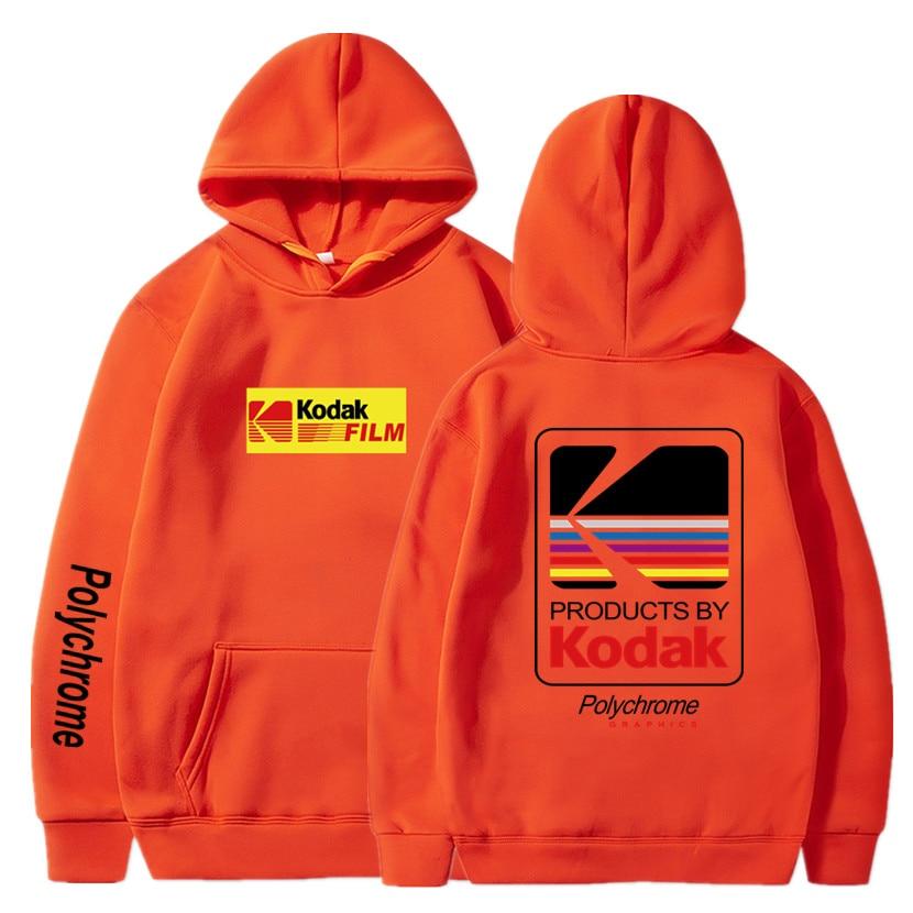 Japanese Hip Hop Winter Fleece Hoody Harajuku kodak Jackets Men Women Sweatshirts 6