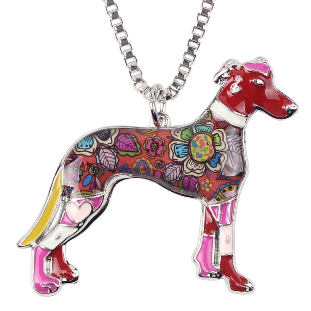 Bonsny Maxi Izjava Metalne legure galije Greyhound Dog Nakit Choker - Modni nakit - Foto 4