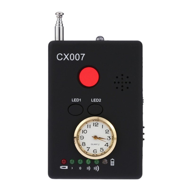 CX007 Multi-function detector Camera Lens Sensor Scanner GSM GPS WiFi Bug Detector With Alarm For Security Anti Candid cx 491 p sensor mr li