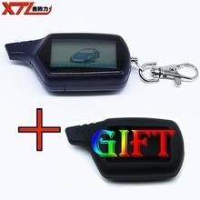 B6 twage ЖК-дисплей Дистанционное управление брелок с логотипом + силиконовый чехол для Starline B6 автомобиля пульта дистанционного управления двухстороннее автомобиль сигнализация