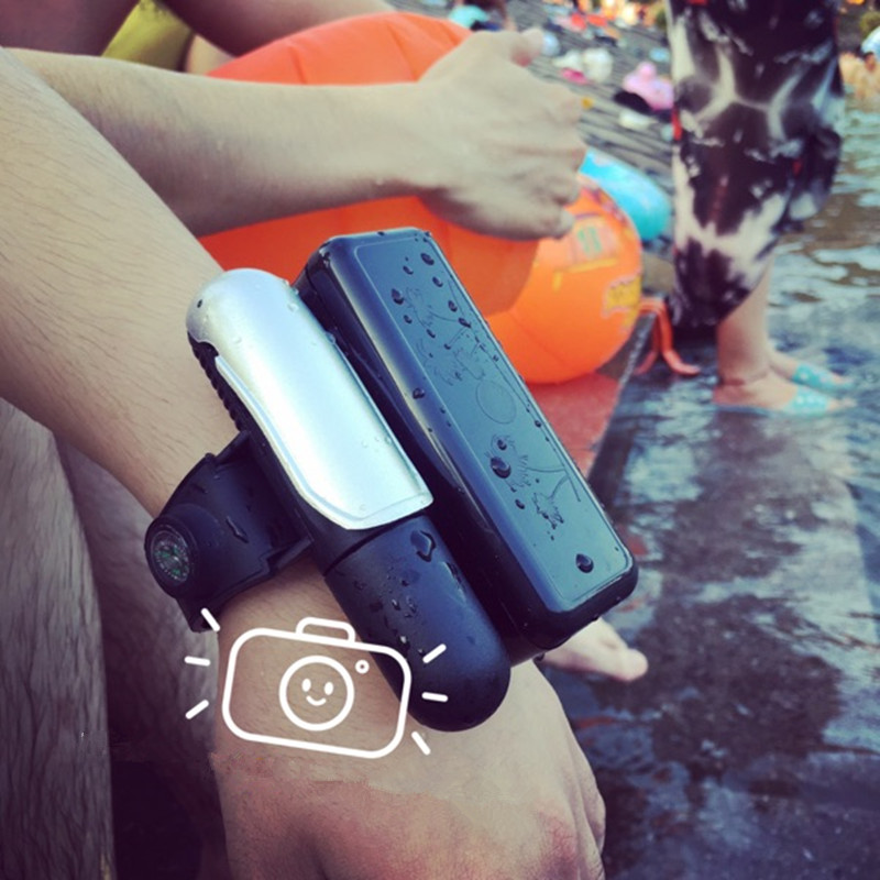 Wristband Wearable Water Safety Product Lifesaving Bracelet Life Buoy Escape Float Self Rescue Bracelet Ballon for Swimming new arrival waterproof night vision pirates monocular telescope 10x50 hd all optical blue film foldable monocular binoculars