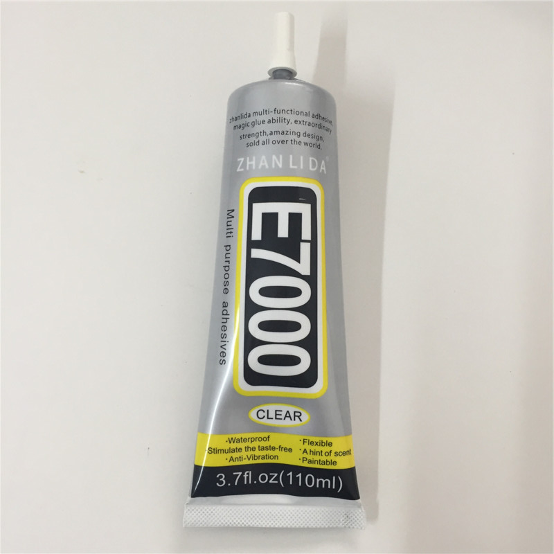 110ml E7000 transparent Glue Multipurpose E-7000 Adhesive Diy Jewelry Crafts Glass Touch Screen Phone Repair Stronger than B7000 stronger new t 7000 glue 50ml black super adhesive cell phone touch screen repair frame sealant diy craft jewelry tools t7000