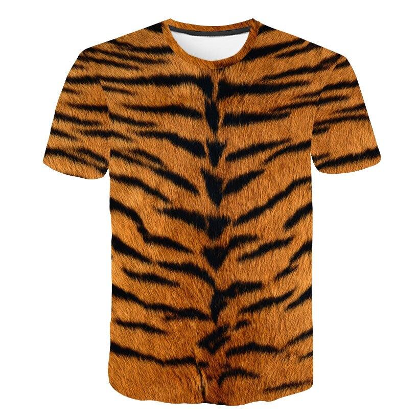 Brand 3d T-shirt Animal Lion Shirt Camiseta 3d T Shirt Men Funny T Shirts Mens Print Clothing Casual Fitness TeeTop Tiger Tshirt