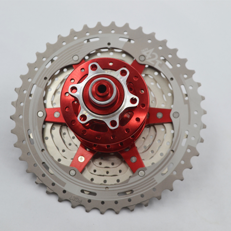 Teeth Crankset Cycling Cassette Flywheel Bike Parts SunRace MTB Mountain Bicycle Freewheel CSMX8 11-46T 11-42T 11 Speed Flywheel image