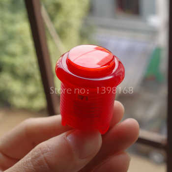 50PCs 28 mm Crystal glowing LED Arcade Push Buttons with Built-In Microswitch and LED/ Arcade button / Arcade parts