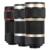 Lentes de Telefoto Telescópio Lente Zoom 8X Universal Olho de Peixe Grande Angular lentes macro microscópio tripé para iphone 7 6 5 s xiaomi